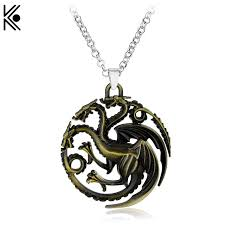 dragon jewelry necklace images Targaryen game of thrones dragon necklace bronze dragon jewelry jpg