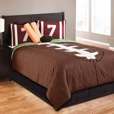 hallmart collectibles touchdown full 6 piece bed in a bag