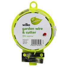 wilko garden wire and cutter 30m at wilko com