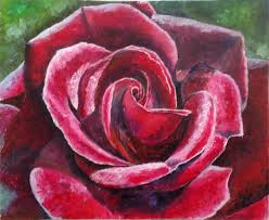 buy oil painting satin rose on livemaster online shop