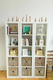 Ikea Shelves Cube by Ikea Expedit Bookcase With Mirrored Back Styled By Design Manifest