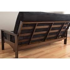 somette beli mont multi flex full size futon frame with microsuede