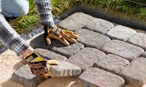 Lowes Pavers Patio by Limestone Garden Edging Concrete Garden Edging Products Precast