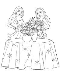 coloring pages barbie coloring pages uniquecoloringpages barbie