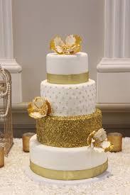 wedding cake gold gold wedding cake cakecentral