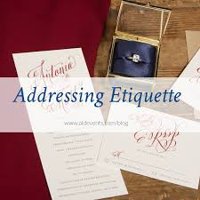 etiquette addressing the envelope u2014 a lovely day events