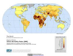 Columbia On World Map by Maps Global Subnational Infant Mortality Rates V1 Sedac