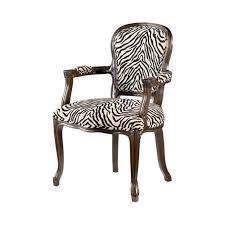 Leopard Print Accent Chair Zebra Print Accent Chair Militariart Com