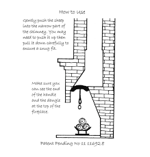 insulation chimney flue draught excluder