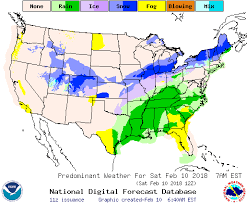 map of weather forecast in us weather u s 7 day forecast weather type