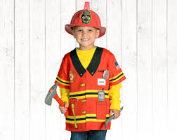 Firefighter Halloween Costume Fire Costume Etsy