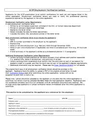 Employment Verification Letter Sle Salary Employment Verification Template Forms Fillable U0026 Printable