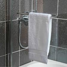 orchard 6mm straight shower bath screen with rail victoriaplum com