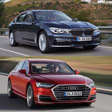 photo comparison 2018 audi a8 vs bmw 7 series