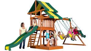 Backyard Discovery Monticello Backyard Discovery Meridian Swing Set U2014 65009 Outdoor Furniture