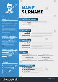 curriculum vitae resume sample resume minimalist cv resume template simple stock vector 417191278 resume minimalist cv resume template with simple design company application cv curriculum vitae