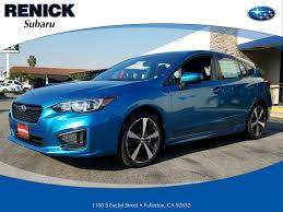 2017 subaru impreza sedan sport orange county new car clearance specials vehicles for sale in