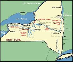 map of the erie canal 8 best york history images on westward expansion