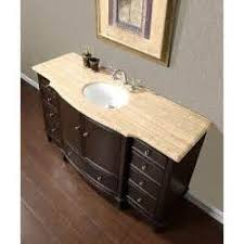 58 Inch Bathroom Vanity Integrated Stone Sinks Bathroom Vanities With A Stylish Twist