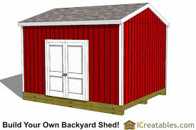 Backyard Storage Sheds Plans by 12x14 Shed Plans Gable Shed Storage Shed Plasn Icreatables Com