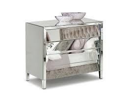 Bed And Nightstand Set Furniture Amusing Modern Silver Bedroom Set Bed Dresser