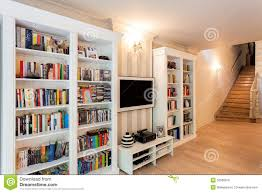 vintage mansion wall of books royalty free stock image image