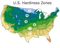 Gardening Zones Uk - us growing season map