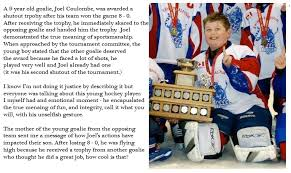 Hockey Goalie Memes - a story just posted by hockey canada about a 9 year old goalie and