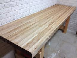 laminated maple bench top bench decoration