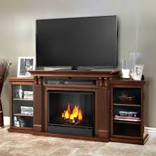 gas fireplace entertainment center drainage pipe installation