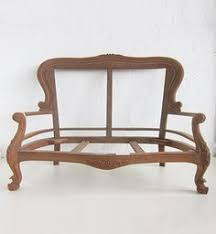 french carved sofa small french 2 seater settee dutch