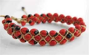 made bracelet images Bracelets made from deadly seeds recalled telegraph jpg