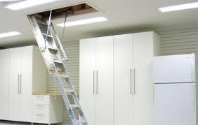 garage attic construction loft storage garage storage solutions