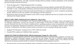 Resume Format For Aviation Ground Staff Firefighter Resume Template Firefighter Resume Examples