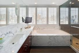 bathroom luxury modern marble bathroom features fine veins marble