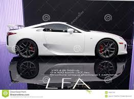 sport lexus lfa lexus lfa v10 editorial stock image image 16567159