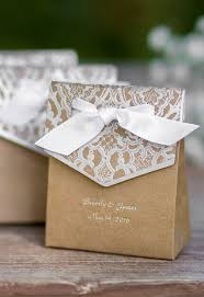 wedding party favor boxes this is a great idea just get regular paper bags and decorate