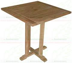 Square Bistro Table Tb 14 Table Bistro Square Teak Table Furniture Real Indonesian