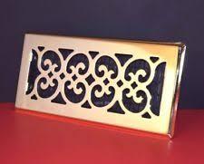 Decor Floor Registers Brass Andirons Grates U0026 Firedogs Ebay