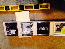 diy cd shelves