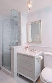 Grey Vanity Bathroom by White And Grey Bathrooms Transitional Bathroom S R Gambrel