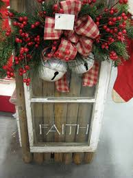 Decorating Windows With Wreaths For Christmas by 170 Best Old Window Love Images On Pinterest Vintage Windows
