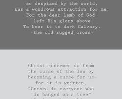 That Old Rugged Cross Hymn Lyrics The Old Rugged Cross Jessicalynette Com