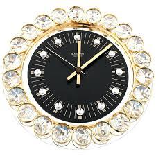 crystal desk clocks cool gold wall clock gold desk clock gold and crystal clock black clock