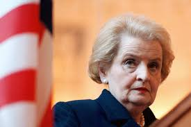 privacy policy madeleine fash madeleine albright says learn to interrupt but only if you know
