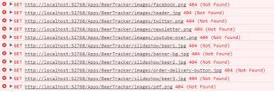 erro 404 no encontrado geapcombr javascript getting rid of irrelevant console errors 404 not