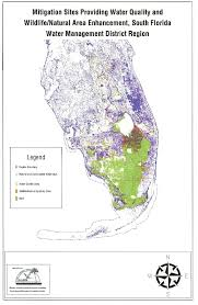 Florida Regions Map by Fdep Ecological Integrity Grant Report Maps