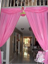 Dollar Tree Curtains Hang Plastic Tablecloths From Doorways To Add Extra Pizzaz To Your