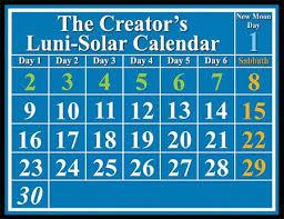 the creator u0027s calendar