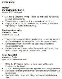Volunteer Work Resume Example by Volunteer Resume Resume With Volunteer Experience A Href U003d